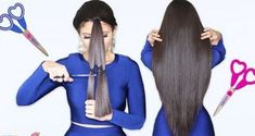Top 10 Hair Hacks You've Never Seen Before! Easy And Beautiful Hairstyles, Cool Hairstyles For Girls, Haircuts For Long Hair, Layered Haircuts, Long Hair Cuts, Diy Hairstyles, Long Hair Styles, Simple Hairstyles, Cut Own Hair