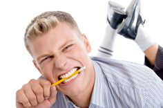 Biting on a pencil can help cure a headache. #headache #migraine #fact #pencil