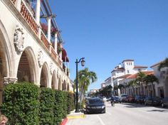 Worth Avenue, Palm Beach, Florida (actually been there...gorgeous place. -DC)