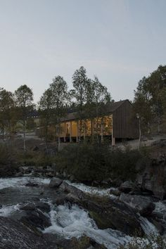 Atnbrufossen Vannbruksmuseum by LJB Architecture and Landscape I Like Architecture