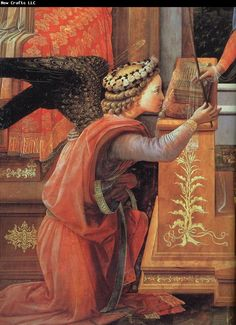 Fra Filippo Lippi Details of The Annunciation