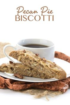 Low carb biscotti meets pecan pie...a match made in heaven. LCHF Keto THM Banting recipe.  via @dreamaboutfood
