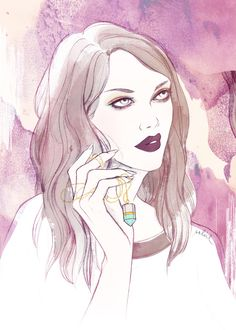 Cocorrina Jewelry - Soleil Ignacio Illustrations  #fashion #illustration #fashionillustration #accessories #jewelry