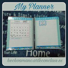 My #planner de #enero #2017 #monthly #lista de #tareas #to-do's #list
