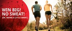 HealthWagers | Better Yourself - my husbands new company!  Runners, check it out!