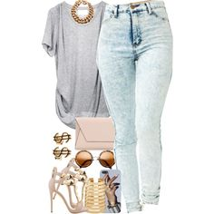 A fashion look from December 2014 featuring 3.1 Phillip Lim t-shirts, Giuseppe Zanotti sandals and Zara clutches. Browse and shop related looks.