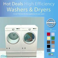 cashcraft's Hi-Efficiency Washers & Dryers - Mesh