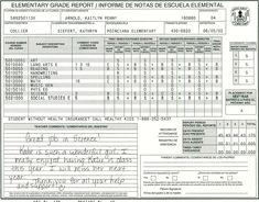 Downloadable Homeschool Report Card Template | Homeschool ...