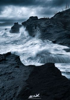 Deathly Swells by Chris  Williams Exploration Photography on 500px
