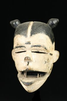 Ogoni Tribe - elu mask AplusAfricanArt