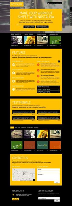 15+ Best WordPress Yellow Color Themes 2016 - Useful Blogging