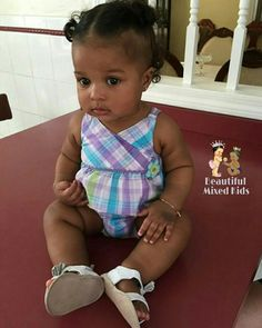 Lola Melody - 8 Months • Cape Verdean, Dominican & Honduran ❤