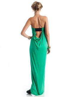 elastic back maxi tube dress $27.10