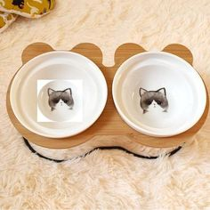 New High-end Pet Bowl Bamboo Shelf Ceramic Feeding and Drinking Bowls for Dogs and Cats Pet Feeder Accessories Bamboo Shelf, Pet Feeder, Halloween Sale, Food Bowl, Dog Feeding, Pet Bowls, Design Your Home, Ceramic Bowls, Dog Breeds