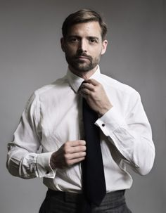 Patrick Grant - The Great British Sewing Bee Great British, British Style, Flannel Suit, Mens Attire, Mens Suits, Out Of Touch, Beard Lover, Savile Row, Bespoke Tailoring