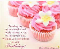 Wish your friends and family a very Happy Birthday with this beautiful card.