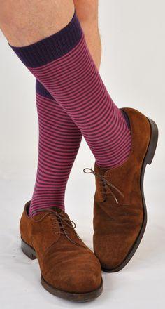Underwear & Sleepwears Mens Colorful Argyle Striped Business Dress Socks Funky Novelty Men Stripes Cotton Long Sock Eu 38-43 Lustrous