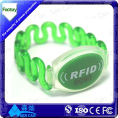 product detail smart silicone RFID wristbands sport soccer_60431374008l