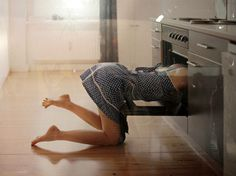 My husband loves to come home and find me cleaning the oven LOL