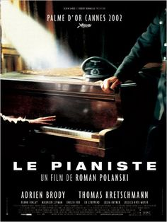 """Le Pianiste "", 2003 directed by Roman Polanski # french movie # pelicula francesa # cinema"