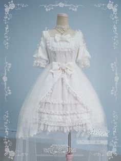 Tomy Bear -The Rose Concerto- Lolita OP Dress
