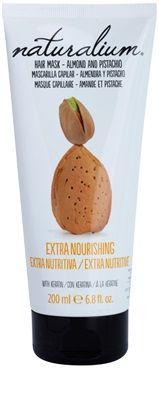 Naturalium Nuts Almond and Pistachio подхранваща маска с кератин | enzo.bg