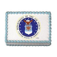 US Air Force Logo Edible Image® Design