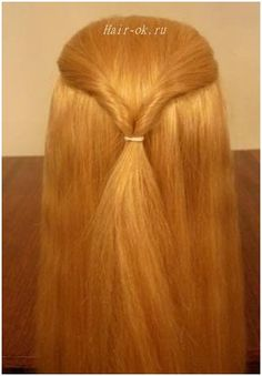 Original hairstyle in 5 minutes. Continued. Figure 2. http://beauty-health.info