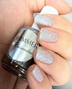 Shimmer Nail Polish - Cassandra. $12.00, via Etsy.