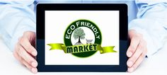 Logo for eco friendly market