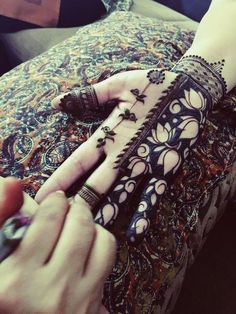 The ancient practice of henna tattoos dates back thousands of years.