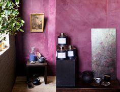 photos by Jennifer Causey. purple walls!!