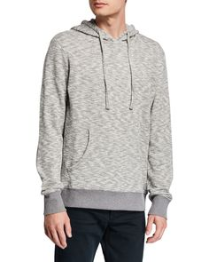 Slate & Stone Men's Marled Hoodie Sweatshirt In Light Gray Slate Stone, Hoodies, Sweatshirts, Hooded Jacket, Mens Fashion, Pullover, Gray, Jackets, Clothes