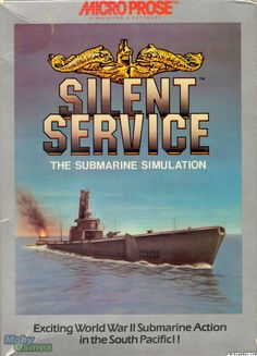 Silent Service I think this is the Amiga version.  I had the Commodore 128/64 version.