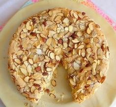 Almond Cake Recipe I like this a day-old, it tastes like a big cookie from the mall!