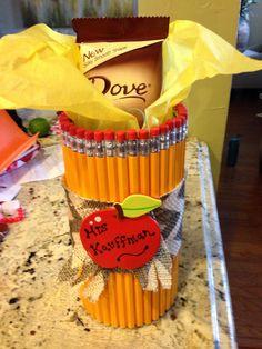 Teacher valentine gift dollar store 4$