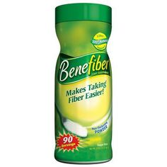 BeneFiber 90-Dose Supplement - 12.3 oz.- Did you know much of the fiber is stripped from foods during processing and cooking? Supplementing fiber can relieve constipation and help prevent diverticular disease of the colon.