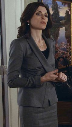 The Good Wife Season 5 Outfits, Explained by Costume Designer Daniel Lawson - Season 5, Episode 6: Armani Suit from #InStyle