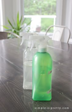 Simple Is Pretty | My first 2 cleaners from The Organically Clean Home Book