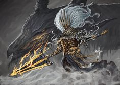 Dark Souls III is awesome, those unique bosses never cease to amaze me, my favourite boss is probably the nameless king so here ya go.