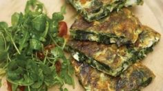 Jamie's Ministry of Food – Spinach, Red Onion and Feta Frittata Recipe - The Good Blog