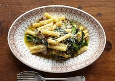 """Broccoli rabe and sausage go well together with pasta or on a loaf of Italian bread. From """"Lidia's Favorite Recipes,"""" by Lidia Matticchio Bastianich. Lidia's Recipes, Sausage Recipes, Pasta Recipes, Dinner Recipes, Cooking Recipes, Italian Dishes, Italian Recipes, Italian Bread, Italian Foods"""