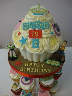 Toy Story Giant Cupcake