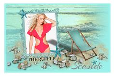 """Seaside"" by seadbeady ❤ liked on Polyvore featuring Boohoo, Barneys New York and ruffledswimwear"