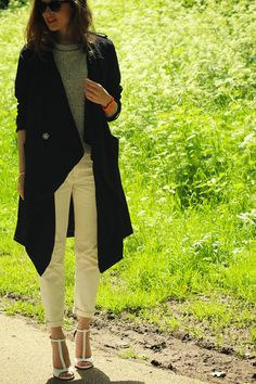 Fash n Chips: Black trench