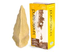 Kinetic Sand - 2.2 lb by WABA Fun, LLC - $15.95  It's the coolest-feeling sand. Best part? It doesn't make a huge mess in the house. It's a definite holiday gift MUST.  #fatbrain #partnerinplay