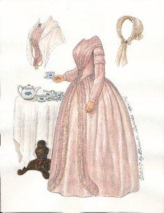 The Belle of Possum Trot | Gabi's Paper Dolls