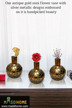 Decorate any corner of your home with this silver glittery shiny marvel pieces. Visit us at @maddhomeindia