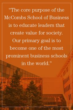 I have the potential to contribute towards the mission of McCombs School of Business by leveraging my personal and professional experiences; I can gain a world-class education to give back to the global community.