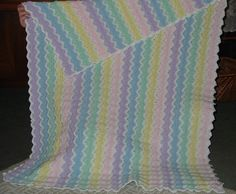 Another crocheted baby blanket